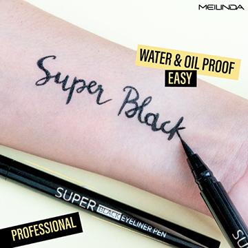 Meilinda Super Black Eyeliner Pen