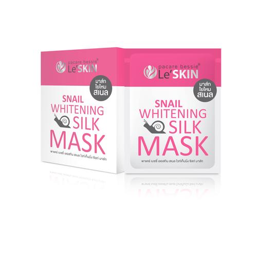 LE'SKIN - Snail Whitening Silk Mask
