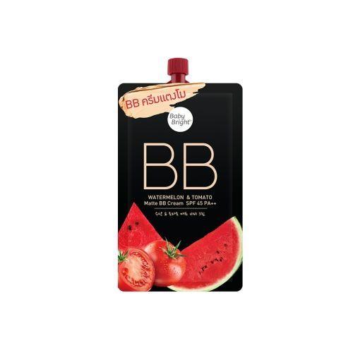 BABY BRIGHT - Watermelon & Tomato Matte BB Cream SPF45 PA++