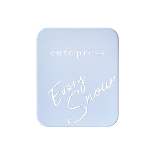 CUTE PRESS - Evory Snow Whitening & Oil Control Foundation Powder SPF30 PA++